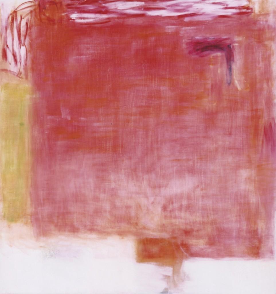 'Innenraum', 1992, olie op doek, 1.70 X 1.70 cm