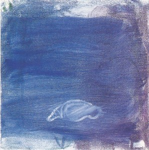 'diepzee' olieverf op doek 20 x 20 cm 1997