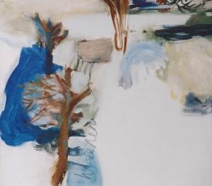 'het wad' olieverf op doek 0.45 x 0.50 cm 1990