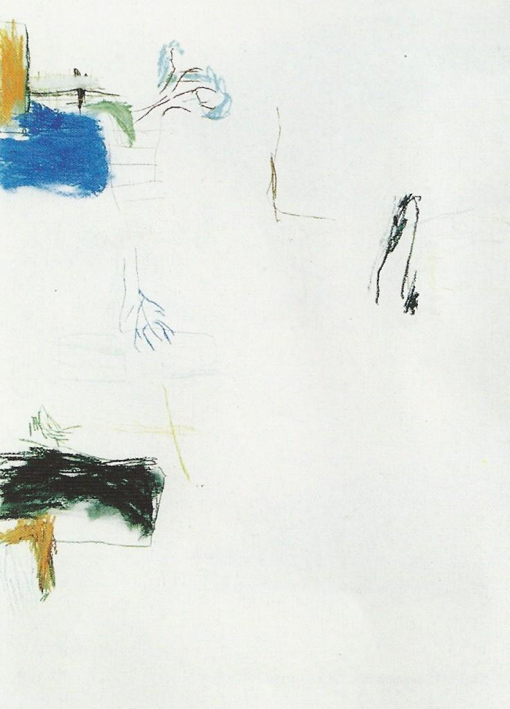 'de tuinen' pastel, 1.00 x 70 cm 1991